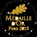 Médaille d'Or PARIS 2015